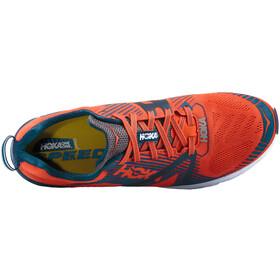 Hoka One One Tracer 2 Running Shoes Herr tangerine tango/blackened pearl